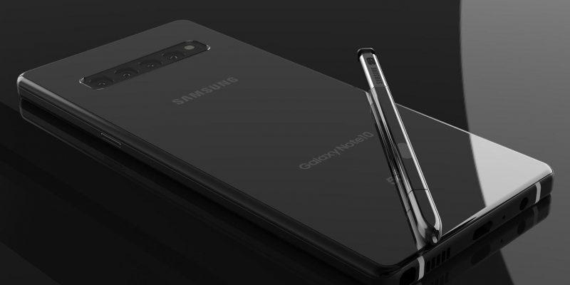 В сети появились новые характеристики Galaxy Note 10 и Note 10+ (galaxy note 10 concept)