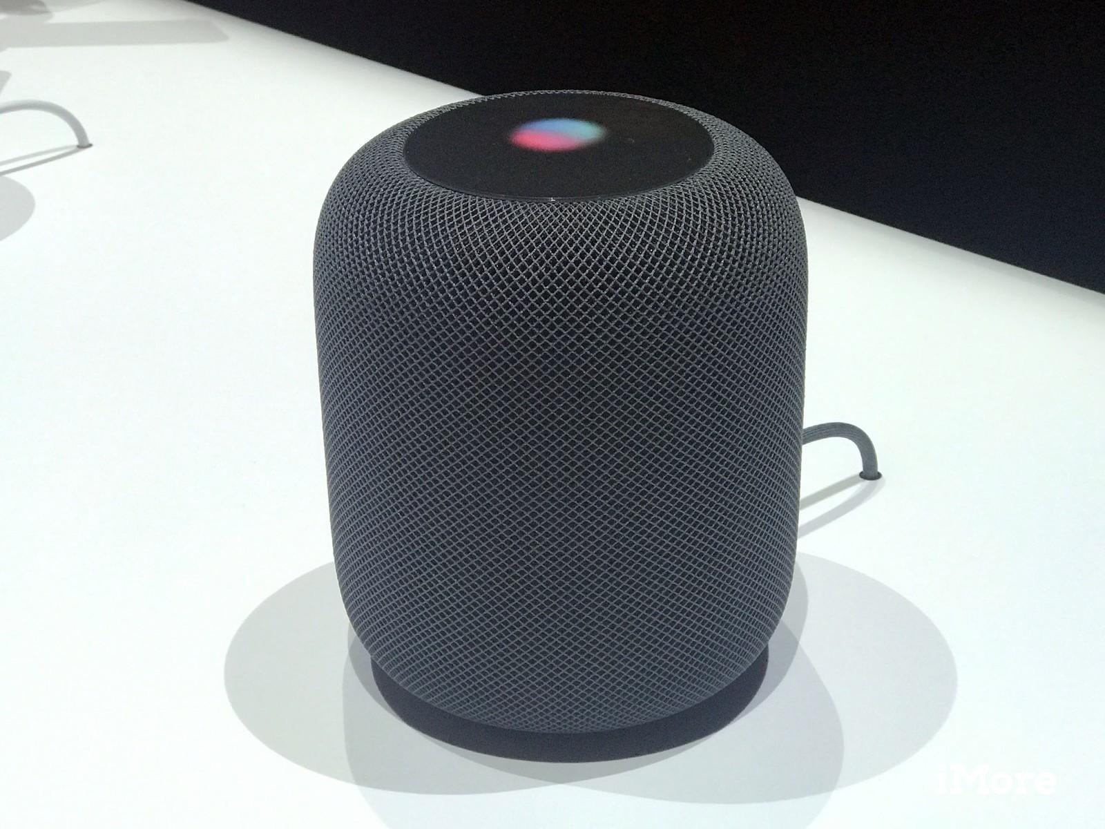 Apple выпустит HomePod в Японии (homehub black)