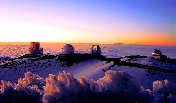 Коренные гавайцы остановили постройку нового телескопа (mauna kea observatory)