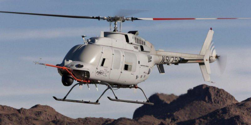 Вертолёт нового поколения ВМС США (mq 8c fire scout endurance test)