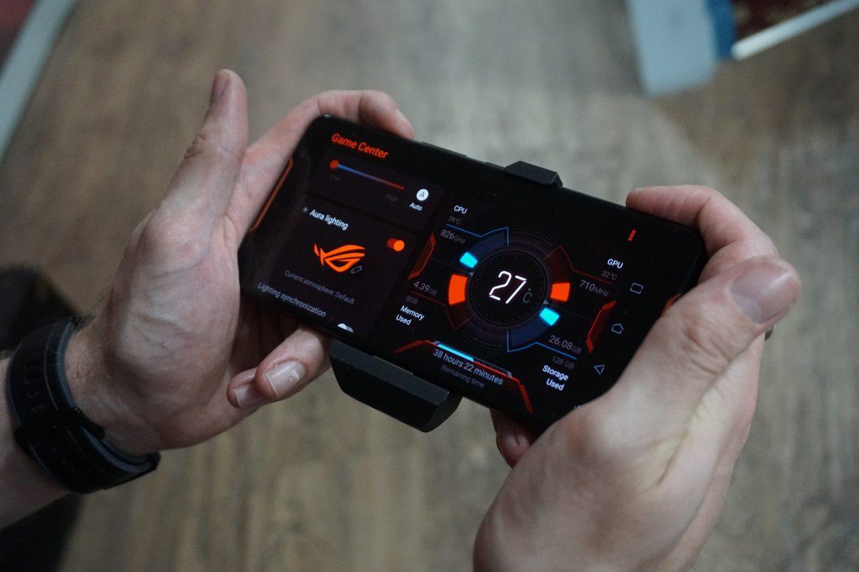 Анонсирован Asus ROG Phone 2 c HDR-экраном и Snapdragon 855+ (rog phone game centre)