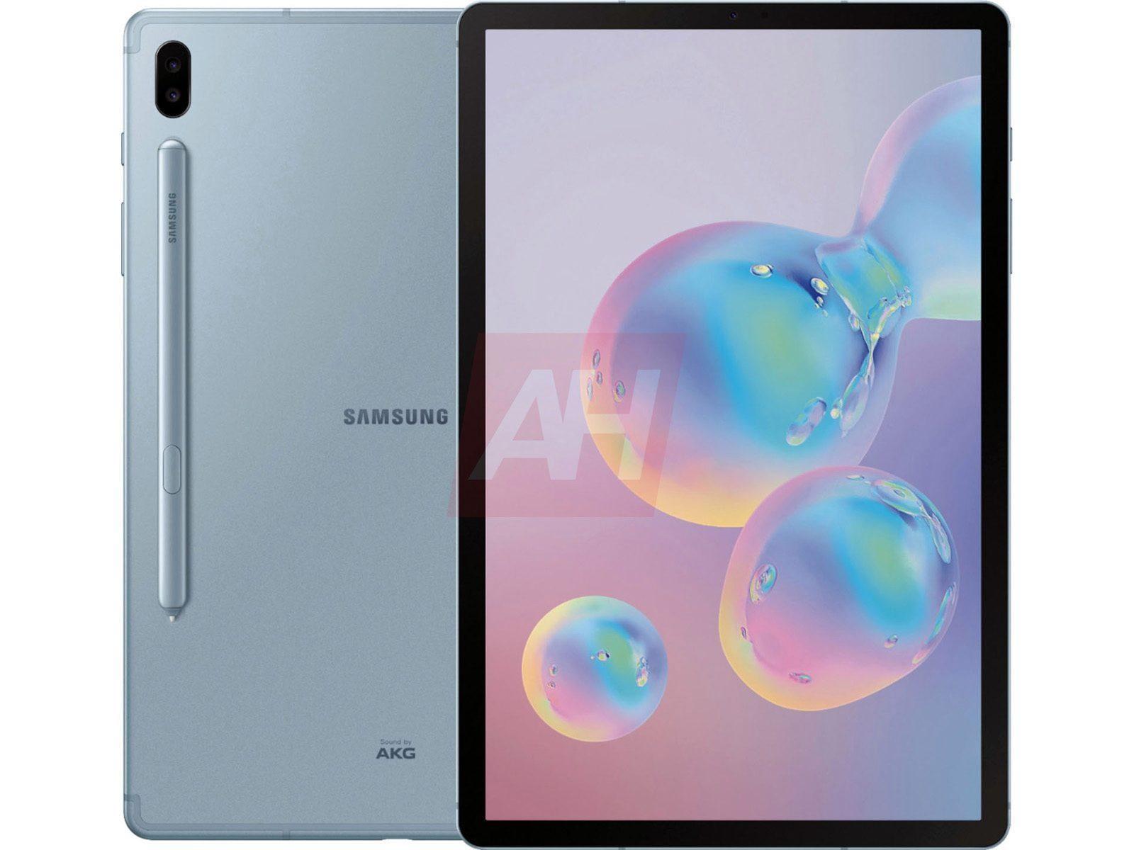 В сети появились изображения Galaxy Tab S6 (samsung galaxy tab s6 render leak 5 1)