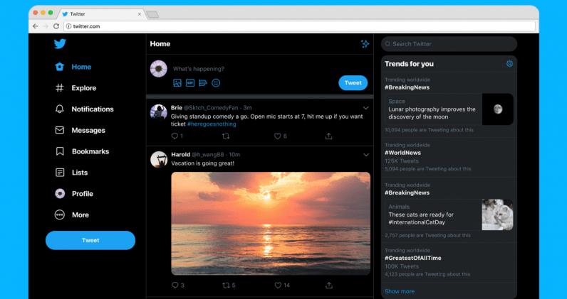 Twitter выпустил новый дизайн (snag 1ee4ec82)