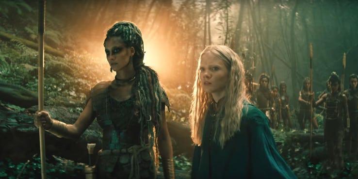 Вышел первый трейлер Ведьмака от Netflix (the witcher netflix ciri and the elves)