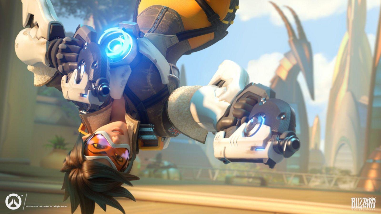 Blizzard закроет матчи в Overwatch из-за нового обновления (tracer wallpaper wide)