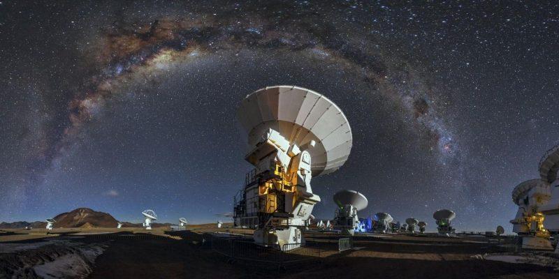 Коренные гавайцы остановили постройку нового телескопа (www.getbg .net world alma observatory in chile 110968)