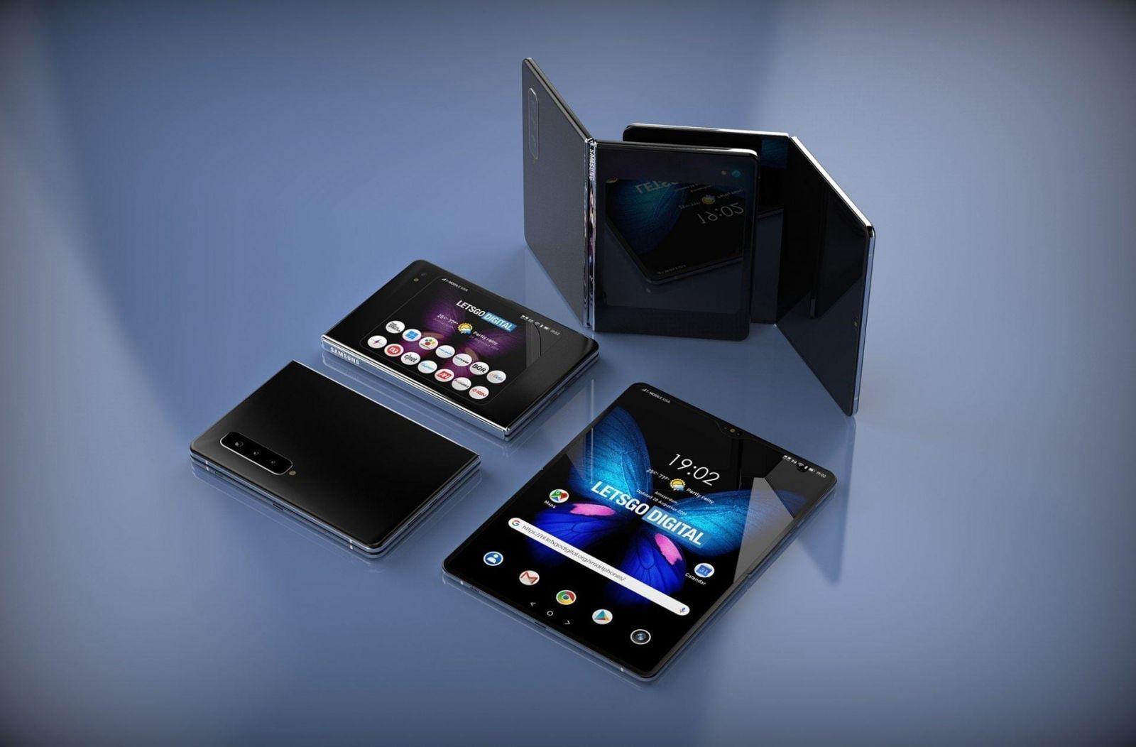 В интернете уже появились рендеры Samsung Galaxy Fold 2 (28)