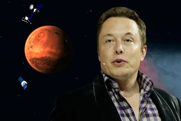Илон Маск предложил сбросить на Марс ядерную бомбу (346306)