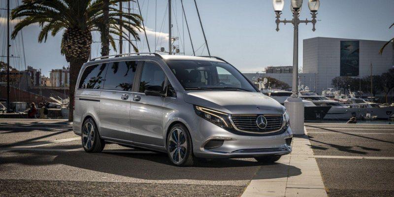 Mercedes-Benz представил минивэн EQV с электрическим двигателем (7 1)