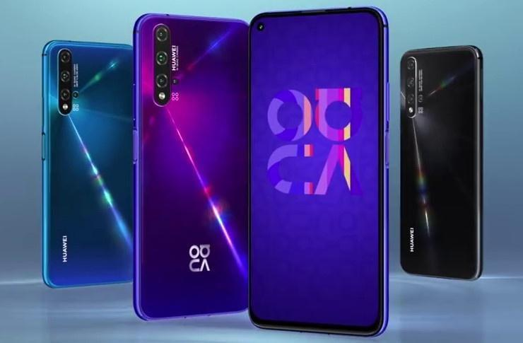 Huawei анонсировала смартфон Nova 5T (huawei nova 5t 3)
