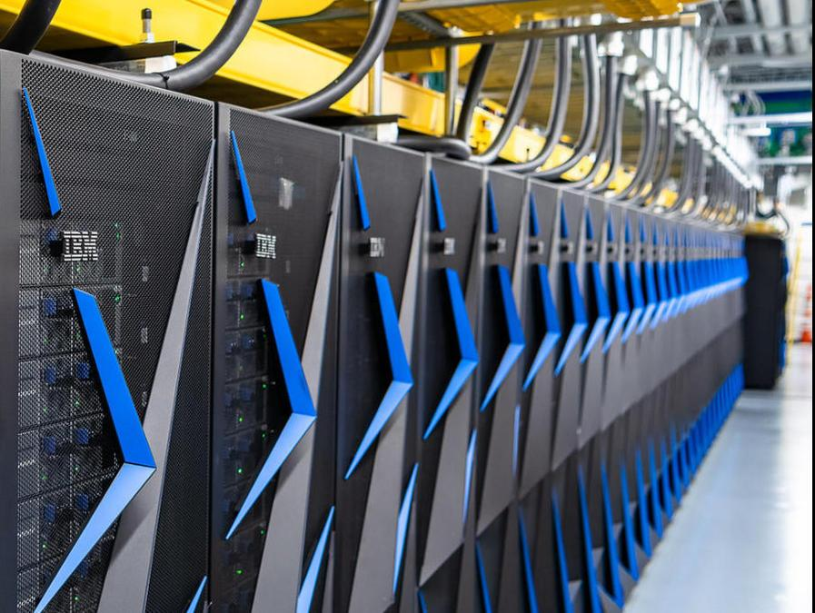IBM запатентовала блокчейн-браузер (ibmpower9supercomputer)