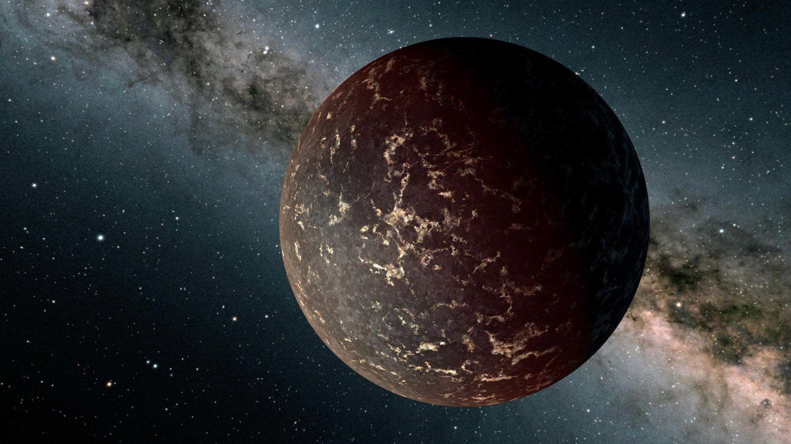 Телескоп «Спитцер» не обнаружил атмосферу у экзопланеты земного типа (image 7510e lhs 3844b)