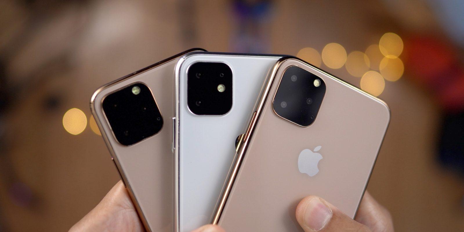 "Слухи: iPhone получит приставку ""Pro"" в названии (iphone 11 mockups)"