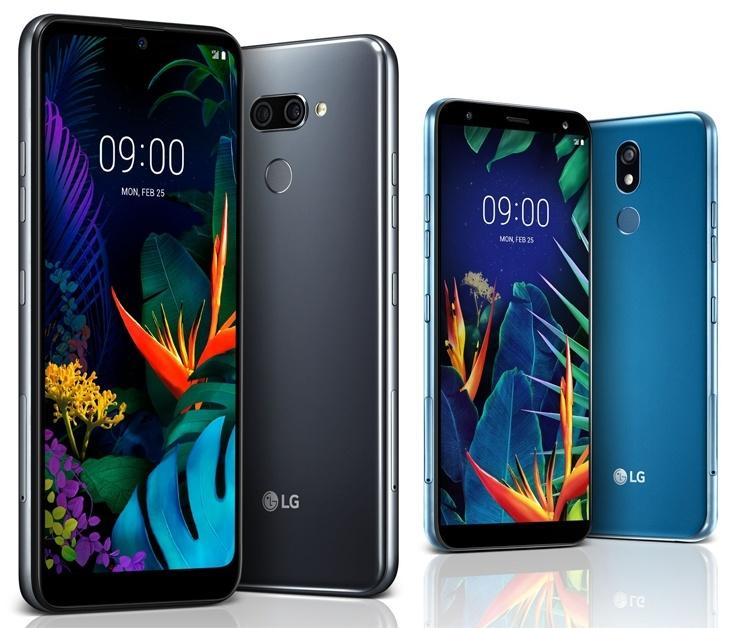 LG представила два новых смартфона (k1)