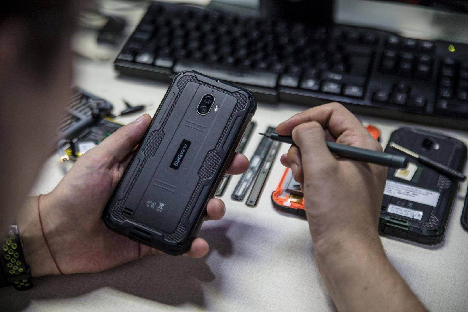Blackview представила новый сверхпрочный смартфон (kosmicheskij blackview bv5900 s maksimalnoj zaschitoj na foto i video picture4 2)