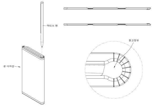 LG патентует смартфон с двойным складным экраном (lg foldable patent)