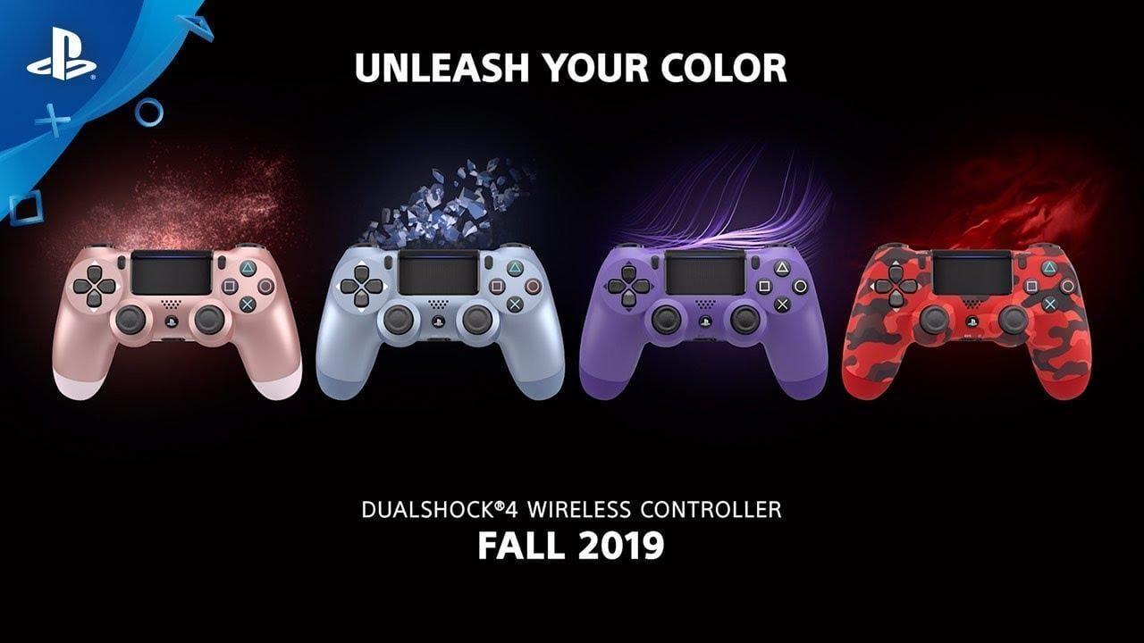 Контроллеры Sony DualShock 4 получат новые расцветки (maxresdefault 5)