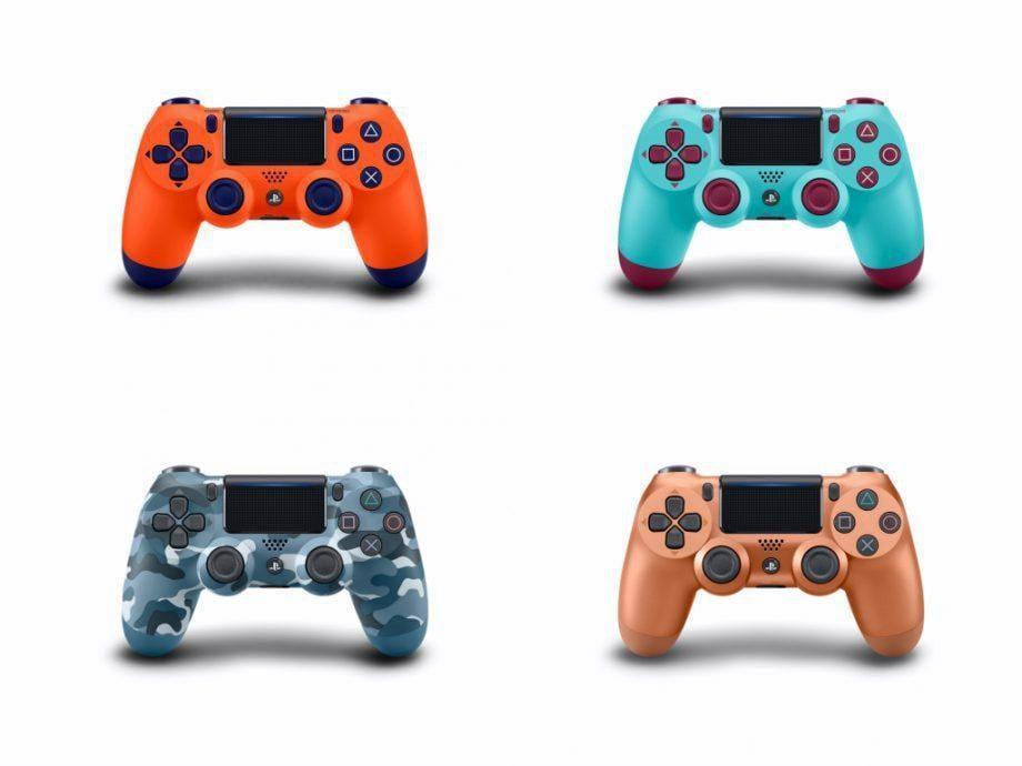 Контроллеры Sony DualShock 4 получат новые расцветки (new ps4 dualshock colours 5)