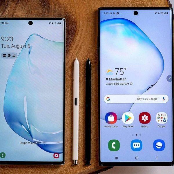 Samsung выпустил смартфоны Galaxy Note 10 и Galaxy Note 10+ (orig samsunggalaxynote10andgalaxynote10plus 1565218236)