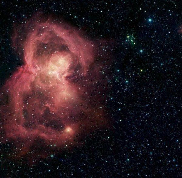 Телескоп «Спитцер» не обнаружил атмосферу у экзопланеты земного типа (pia23121 hires)