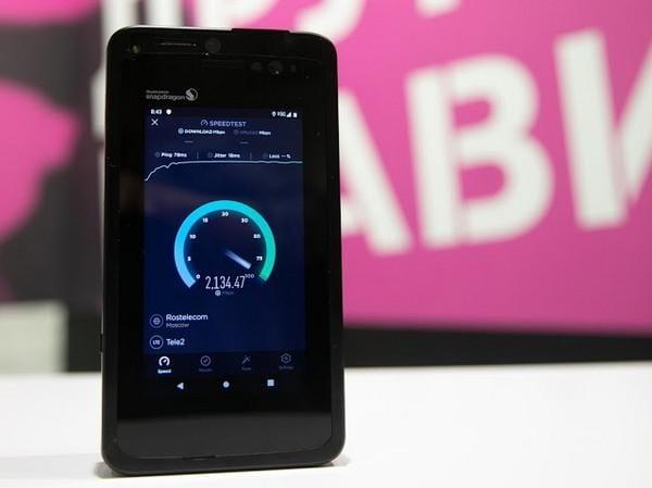 Tele2 в ходе тестирования технологии 5G развила скорость интернета до 2,1Гб/с (tele2 5g speed test smartphone 34)