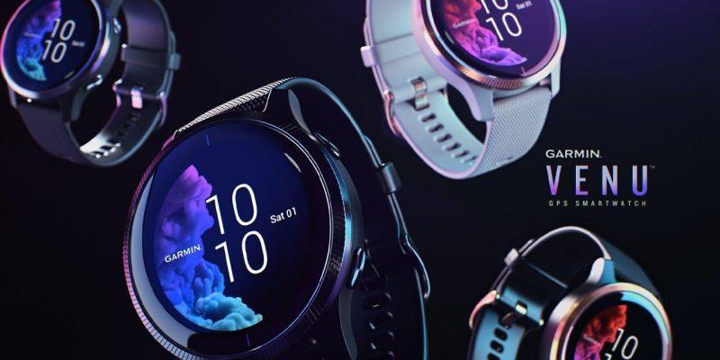 IFA 2019. Garmin показал новые умные часы Garmin Venu (120)