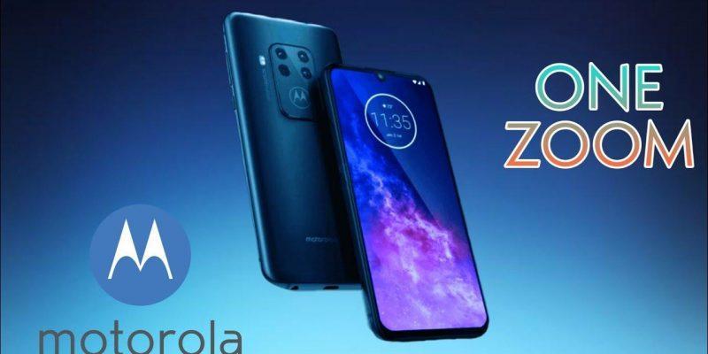 IFA 2019. Motorola Moto One Zoom с четырьмя камерами и сканером отпечатков под дисплеем (128)