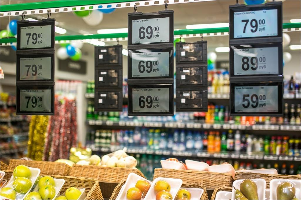 В магазинах сети «Пятерочка» скоро появятся электронные ценники (13d54b0e46135e54f8481e9dbc81b7fe)