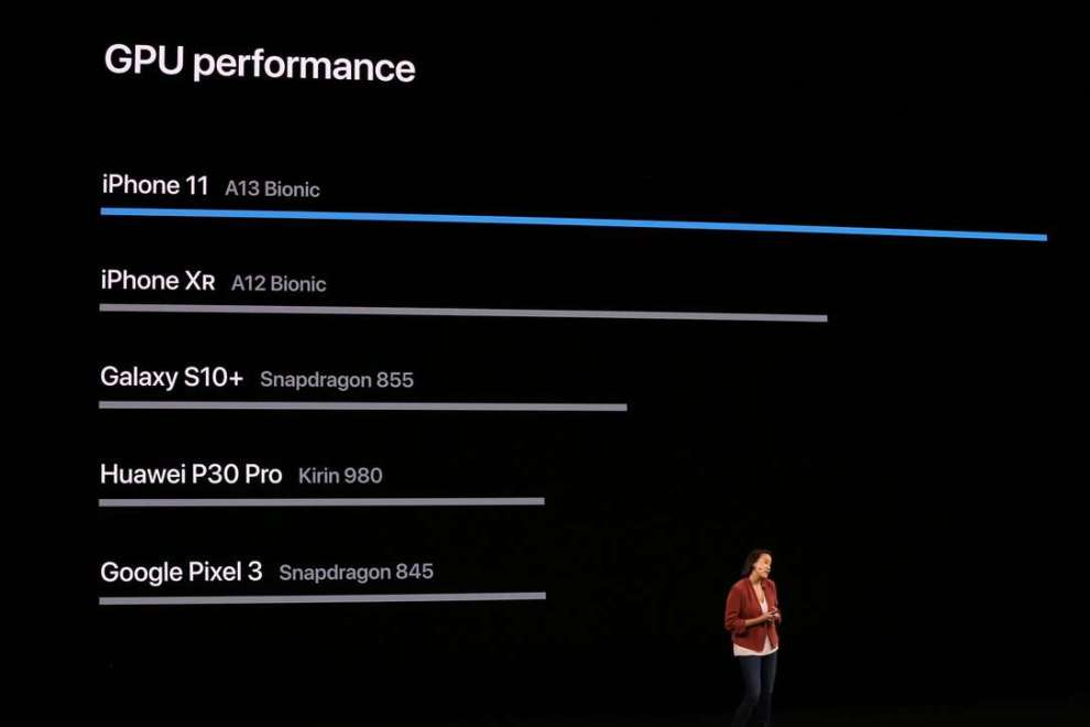 Чип A13 Bionic для новых iPhone 11 стал самым мощным чипом для смартфонов на рынке (175)
