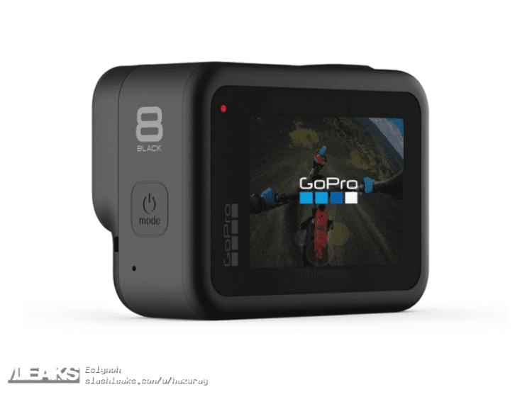 В интернете появились изображения камеры GoPro Hero 8 и GoPro Max (180)