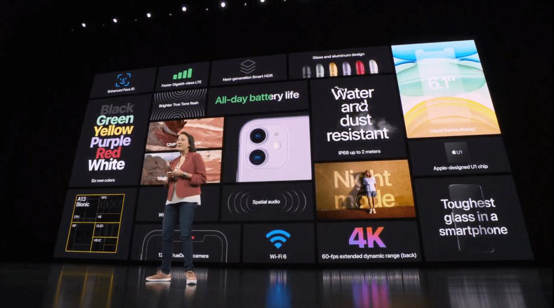 Apple представила новый iPhone 11 с двойной камерой (2019 09 10 21 05 08)