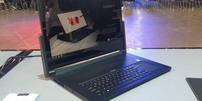 IFA 2019. Ноутбук Acer ConceptD 9 Pro с вращающимся дисплеем (85)