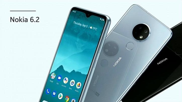 IFA 2019. Компания HMD Global выпустила смартфон Nokia 6.2 (anons nokia 62 i 72 serednaki s krugloj trojnoj kameroj picture2 0 resize)