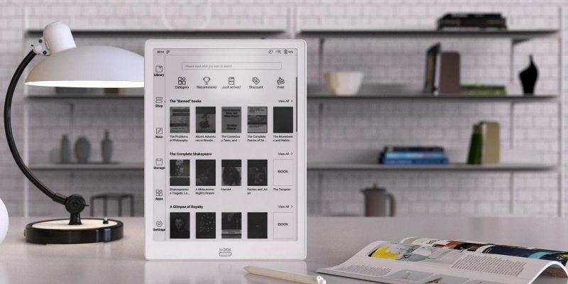 IFA 2019. Компания Onyx Boox показала электронную книгу Max3 (bookshelf 2)