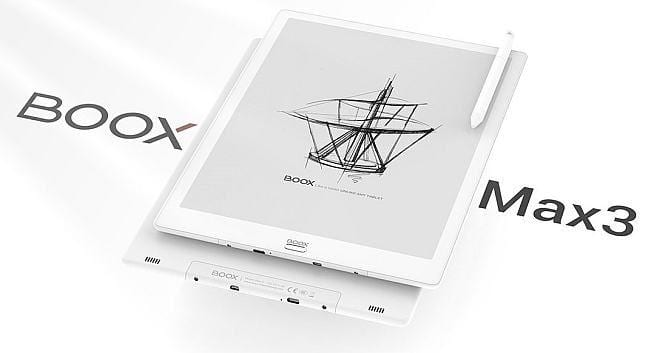 IFA 2019. Компания Onyx Boox показала электронную книгу Max3 (boox max3)