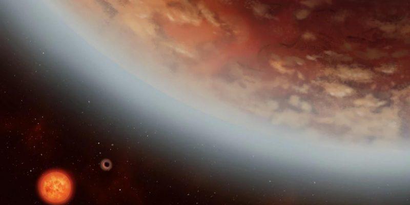 Астрономы обнаружили воду на потенциально пригодной для жизни планете (exoplanet k2 18)