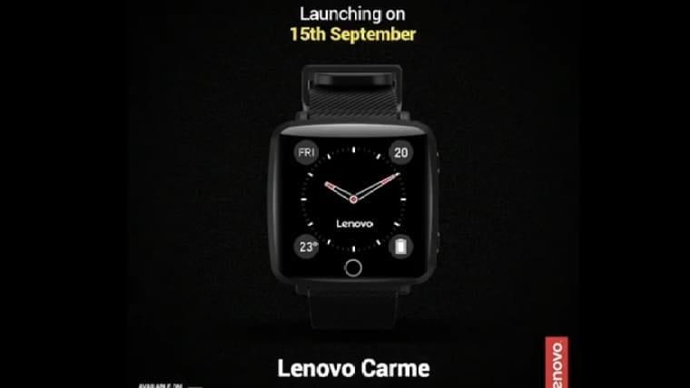 Компания Lenovo представила смарт-часы Lenovo Carme (freepressjournal 2019 09 a6bd0654 1517 4f9f 8969 4845d2f33f98 lenovo crame)