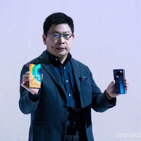 Huawei провела презентацию смартфона Huawei Mate 30 Pro (huawei mate 30 richard yu 0)