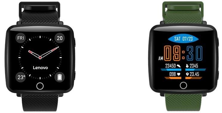 Компания Lenovo представила смарт-часы Lenovo Carme (lenovo carme smartwatch)