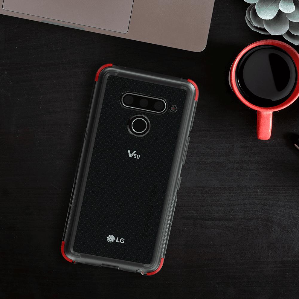 IFA 2019. Компания LG представила смартфон LG G8X ThinQ (lg v50 thinq clear case cover)