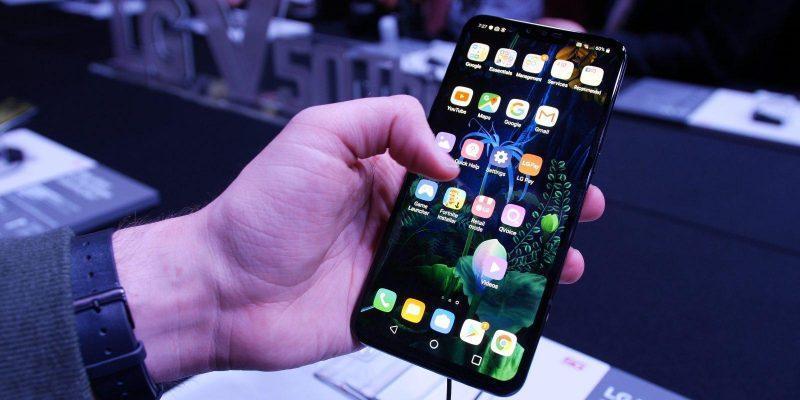 IFA 2019. Компания LG представила смартфон LG G8X ThinQ (lg v50 thinq software and performance)