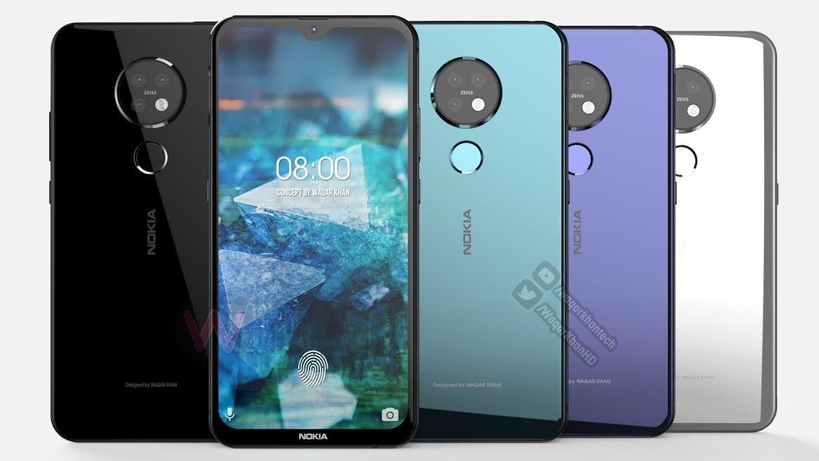 IFA 2019. HMD Global представила смартфон Nokia 7.2 (nokia 7.2)