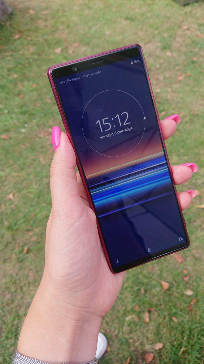 IFA 2019. Sony представила новый небольшой смартфон Xperia 5 (photo 2019 09 05 16 13 15)