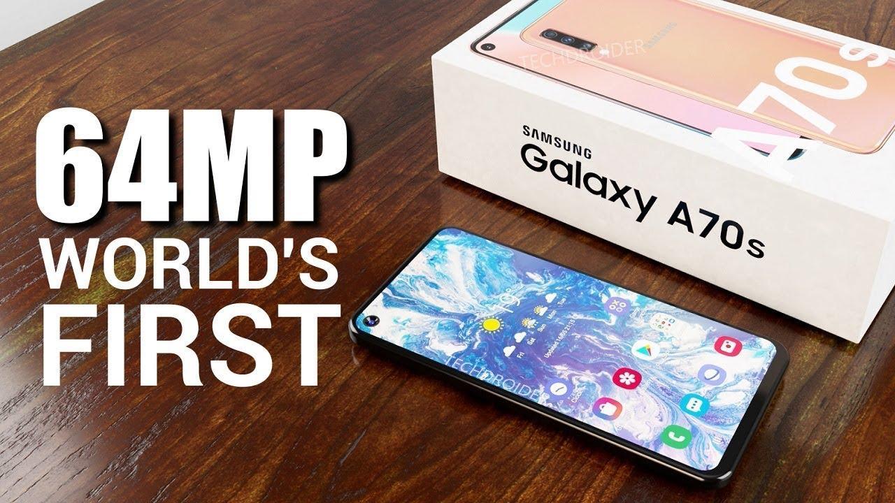 Стали известны некоторые характеристики смартфона Samsung Galaxy A70s (samsung galaxy a70s a1)