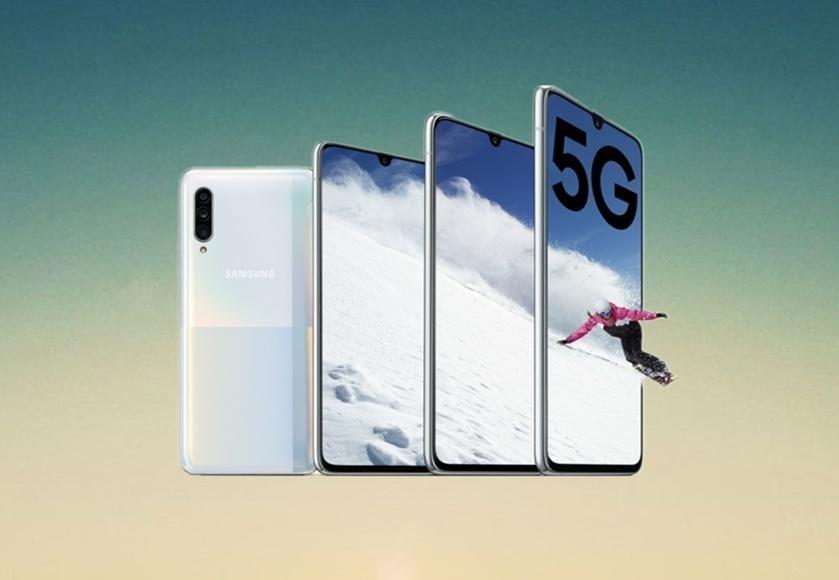 Samsung представила смартфон Samsung Galaxy A90 5G (samsung galaxy a9 5g 3 1)