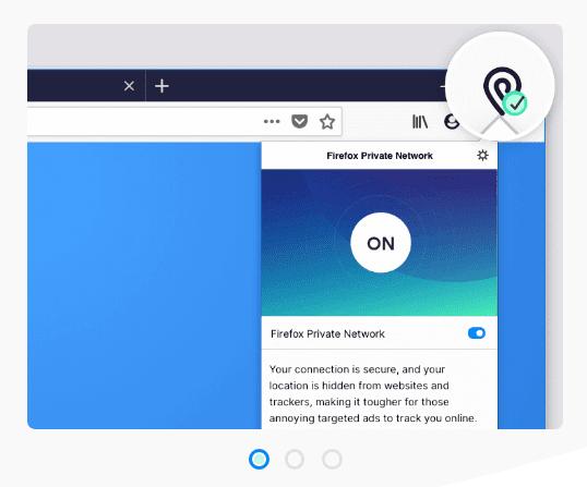 Mozilla начал испытания VPN-сервиса для браузера Firefox (screenshot 1)