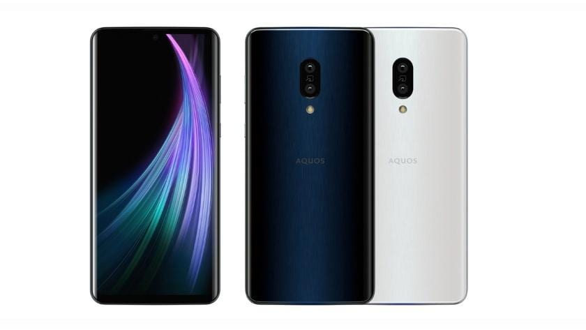 Sharp анонсировала смартфон Aquos Zero 2 с кадровой частотой экрана 240 Гц (sharp aquos zero 2 1 zraukys)