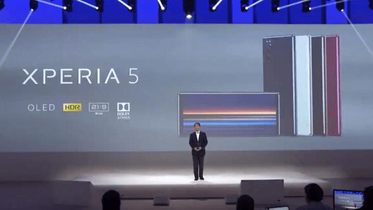 IFA 2019. Sony представила новый небольшой смартфон Xperia 5 (sony xperia 5 leak hero)
