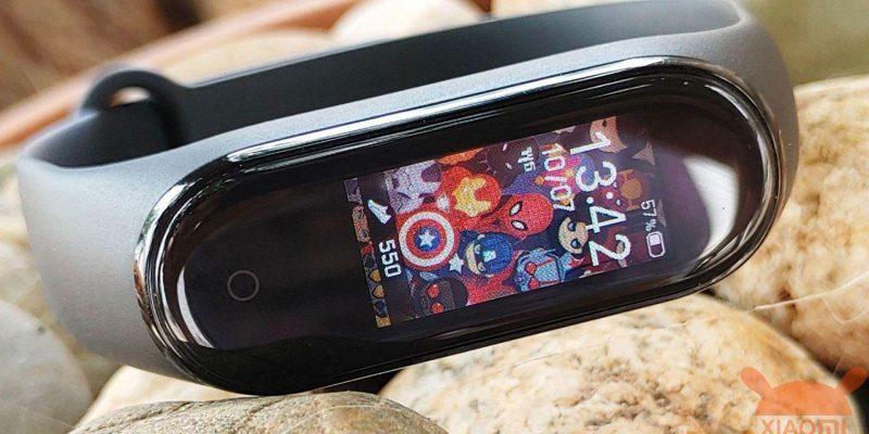 Xiaomi Mi Band 4 получил новые циферблаты (xiaomi mi smart band 4)