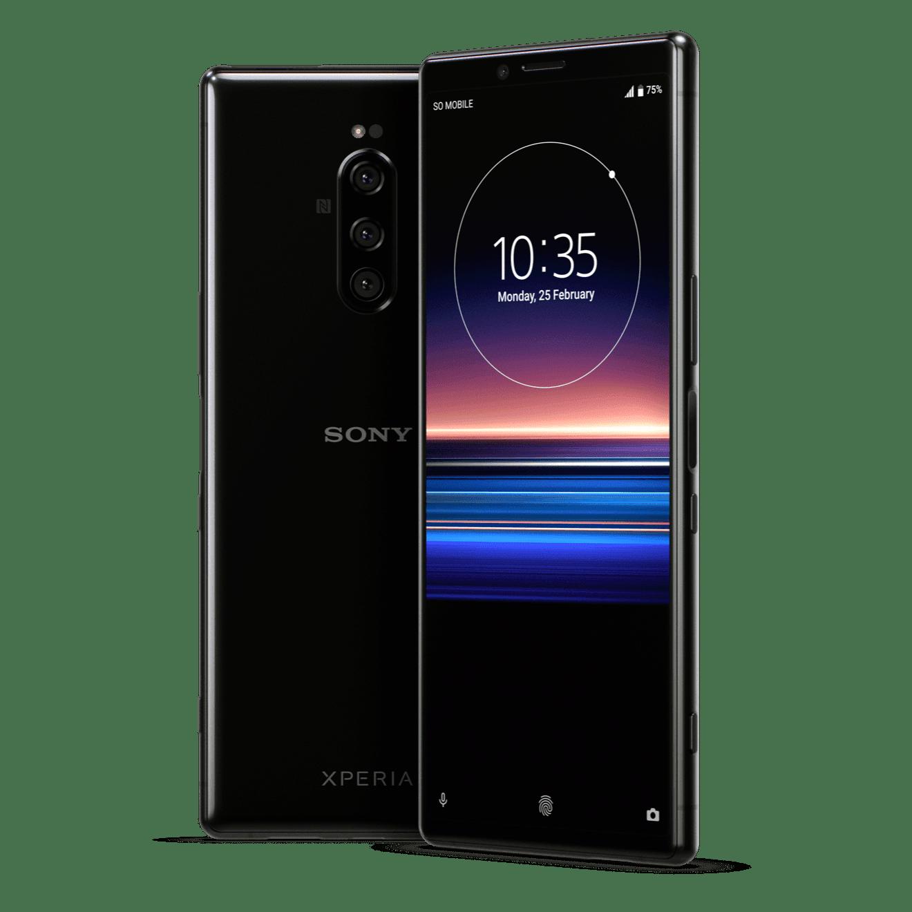 Компания Sony представила смартфон Sony Xperia 1 Professional Edition (01 xperia 1 primary product image black e776e241f1d48b55ad6e630f862253b6)